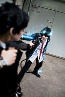 Ao no Exorcist - Brothers by Majin-sama