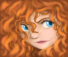 Merida by Lily-the-Animator