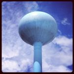 Water Tower Series: Big Blue by agentpalmer