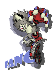 Fang the Cool Wolf by Angelic-Zinle