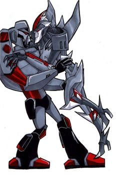 Megatron+Starscream shenanigan by neoyi