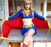 Supergirl DC Cosplay by SrGrey