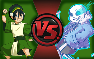 CFC|Toph vs. Sans by Vex2001