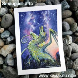 Smaugust 2017 / Dragonbrushed - #14 by Kamakru