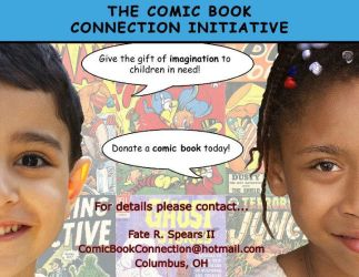 The Comic Book Connection Initiative Banner #3 by art-by-mike