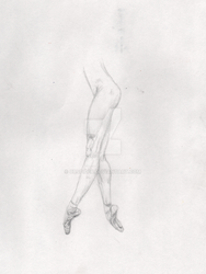Ballet Legs by CrSpider