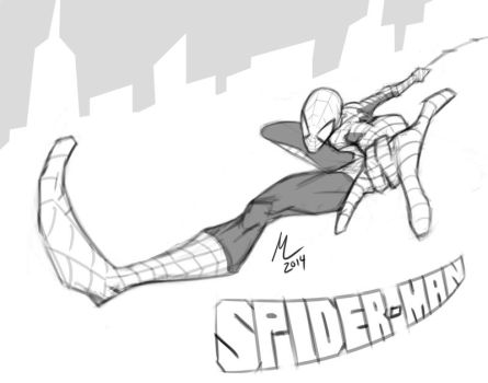 Spider-man by mad-arts