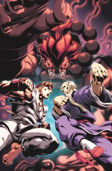 Street Fighter II 4 Cover by UdonCrew