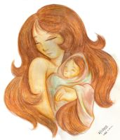 Mother and Child by yanagi-san
