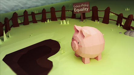 Low Poly Equality by Lenuk