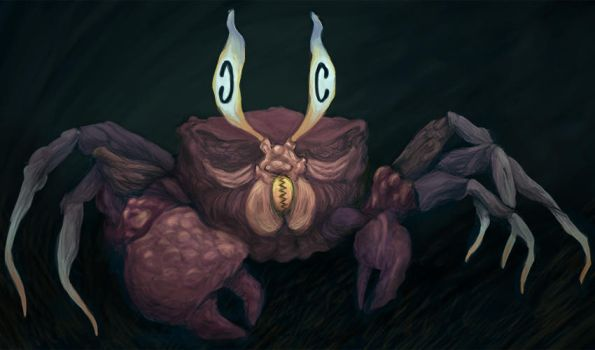 The Headache Crab by Fish-man