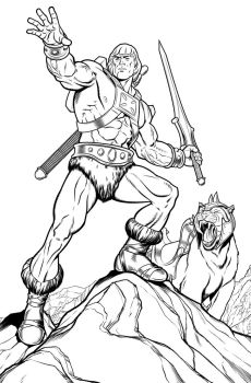He-Man! by angryrooster