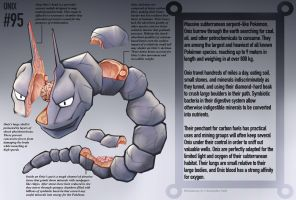 Onix Anatomy- Pokedex Entry