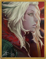 Mara Sov, Queen of the Awoken by fadingz