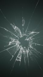 Broken Glass Wallpapers iPhone 6S by lirking20