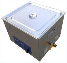 Power Adjustable Ultrasonic Cleaner 15L by bjultrasonic