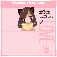 valentine day meme (Catia) by city-galaxies