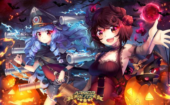 Armor Blitz Halloween by SquChan