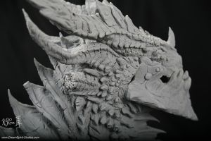 Deathwing Sculpture -03 by Dreamspirit