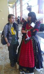 Me and The Queen of Hearts :3 by XxGothic-AngelxX