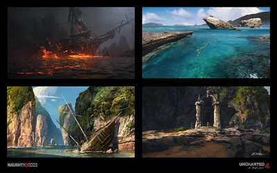 Uncharted 4 - Assorted Sketches by EytanZana