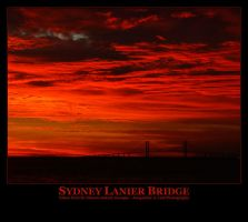 Sydney Lanier Bridge by Isquiesque
