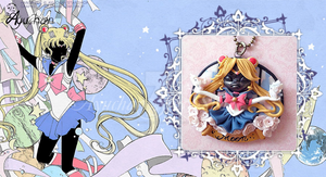Sailor Moon Crystal - Moon Cammeo by AyumiDesign