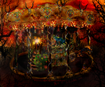 -The Royal Nightmare Carousel- by KichisCrafts