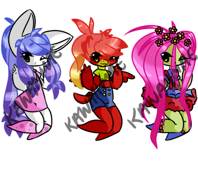 KawaiiMae's Song Adopts +PRICES NEGOTIABLE+ by Imperial-Witch