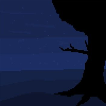Night pixelart by ZNKT
