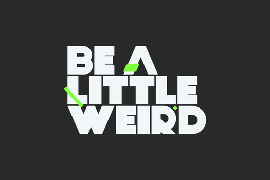 Be a little weird by SC-3