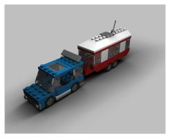 Lego 6590 Vacation Camper by neilwightman