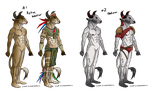 Minotaur adopts CLOSED by IssuesandDramaAdopts