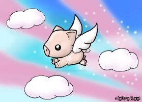 When Pigs Fly by biancaloran