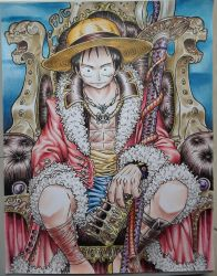 Luffy the king of pirates by TicoDrawing
