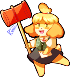 Isabelle by G1ZM0E