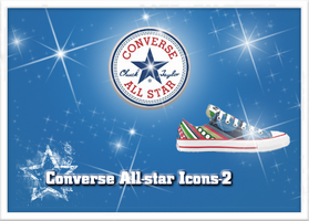 Converse All-Star Icons-V2 by lemondesign