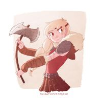 Astrid doodle by TwilightSaphir