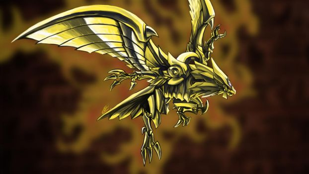 Winged Dragon of Ra by Silver-Fate