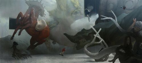Motherland Chronicles #26 - triptych by tobiee