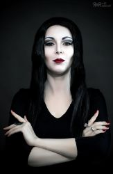 Morticia Addams Cosplay Test by Rei-Doll