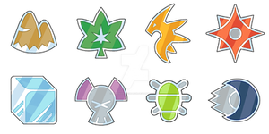 Myoto Gym Badges