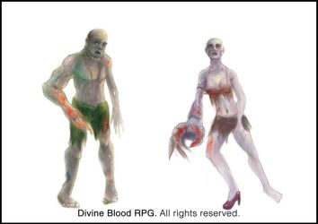 Divine blood: Ghoul by HentaiNeko