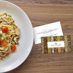 Business Cards for Personal Chefs and Restaurants by es32