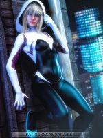 SpiderGwen by PGandara