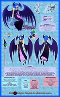 -Witch's Dimension OCT- Yaoula Refsheet by sarahthecat