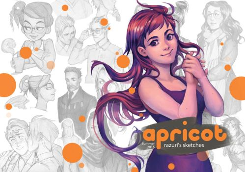 Apricot PDF Sketchbook Issue 3 by Lapis-Razuri