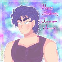 Happy Birthday Jonathan Joestar by Amazingemily13