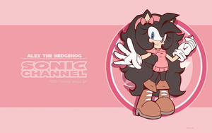 Alex Sonic Channel Style 2018 by chibiirose
