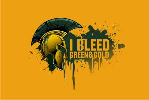 I Bleed Green and Gold by dorarpol
